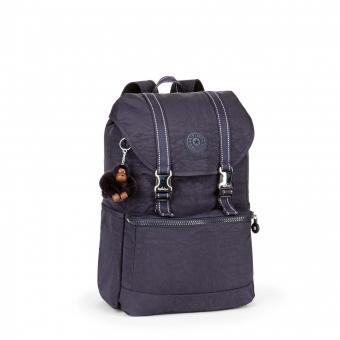 Kipling Experience Mittelgroßer Rucksack mit Laptopfach Blue Purple C