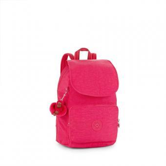 Kipling Cayenne Basic Kleiner Rucksack Cherry Pink C