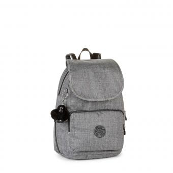 Kipling Cayenne Basic Plus Kleiner Rucksack Cotton Grey