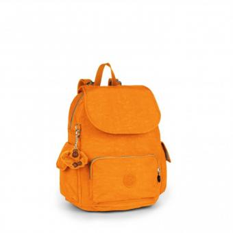 Kipling City Pack S Rucksack Sunset Yellow