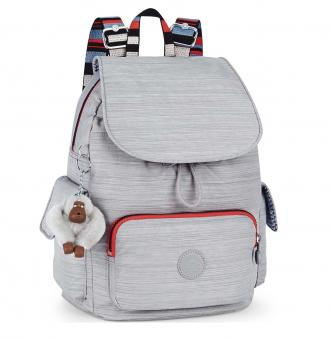 Kipling City Pack S Rucksack Dazz Grey Str