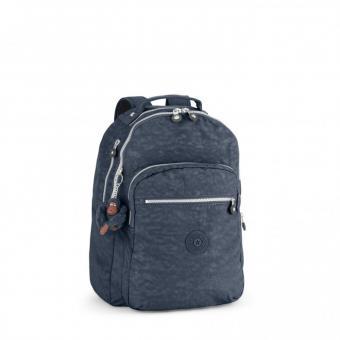 Kipling Clas Seoul Back to School Großer Rucksack True Blue
