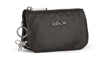 Kipling Creativity S Kleine Geldbörse Metallic Black