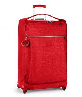 Kipling Darcey Rollkoffer L 89 Liter 4-Rollen Vibrant Red