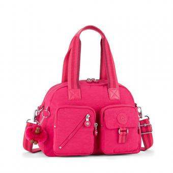 Kipling Defea Basic Mittelgroße Schultertasche Cherry Pink C