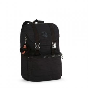 Kipling Experience Mittelgroßer Rucksack mit Laptopfach Dazz Black