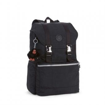 Kipling Experience Mittelgroßer Rucksack mit Laptopfach Black