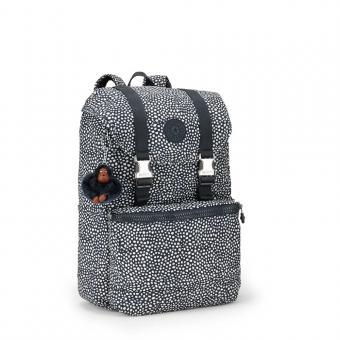 Kipling Experience Mittelgroßer Rucksack mit Laptopfach Dot Dot Dot