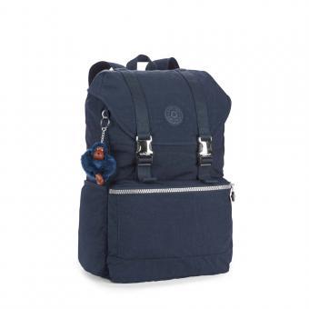 Kipling Experience Mittelgroßer Rucksack mit Laptopfach True Blue
