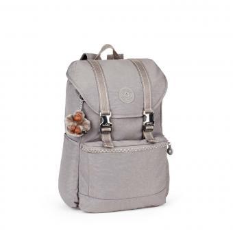 Kipling Experience Mittelgroßer Rucksack mit Laptopfach Urban Grey C