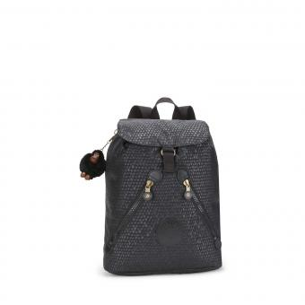 Kipling Fundamental Rucksack Black Scale Emb