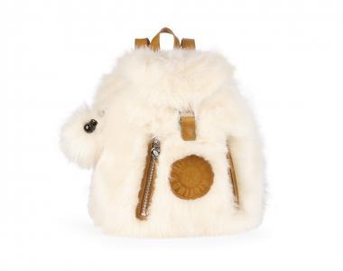 Kipling Fundamental Kunstfell-Rucksack Fur