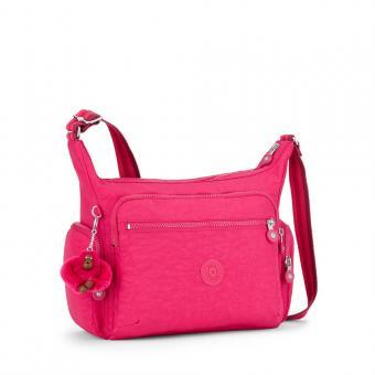 Kipling Gabbie Mittelgroße Schultertasche Cherry Pink C