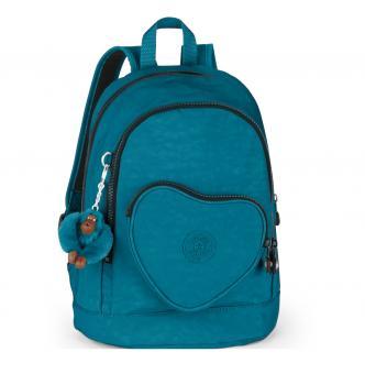 Kipling Heart Backpack Kinderrucksack Teal C