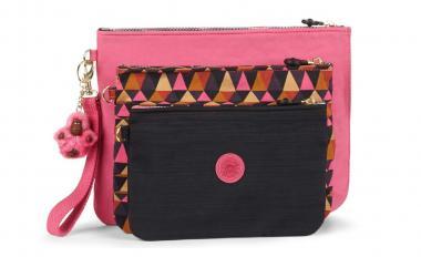 Kipling Iaka 3er Set Taschen Carmine Pink