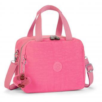 Kipling Miyo Lunchbag mit Trolleylasche Carmine Pink