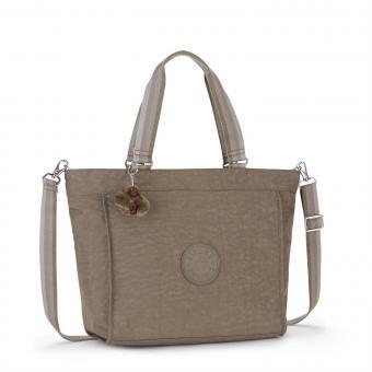 Kipling New Shopper L A4 Schultertasche Soft Earthy C