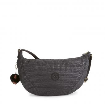 Kipling Nille Schultertasche Black Scale Emb