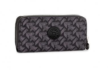 Kipling Uzario Basic Große Brieftasche Warm Grey