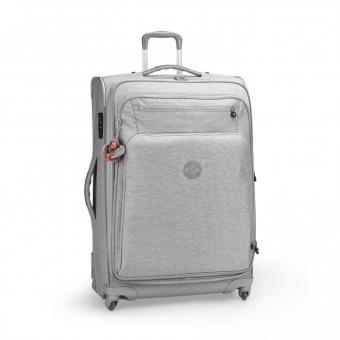 Kipling Youri Basic Spin 78 4-Rollkoffer Cool Grey C