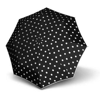 Knirps T.010 Small Manual Taschenschirm Dot Art Black