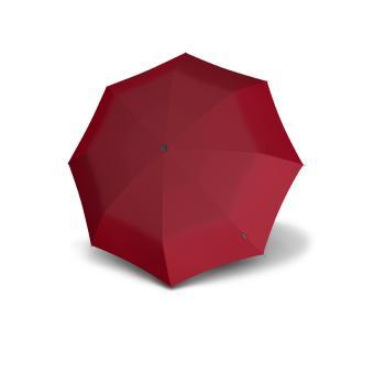 Knirps T.010 Small Manual Taschenschirm mit UV-Schutz Dark Red