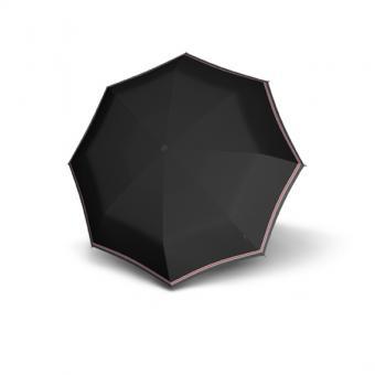Knirps T.100 Small Duomatic Automatischer Taschenschirm ID Black