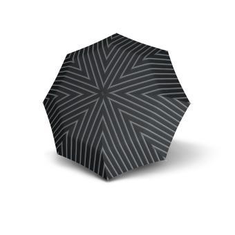 Knirps T.200 Medium Duomatic Automatischer Taschenschirm Justin Grey