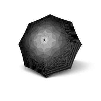 Knirps T.200 Medium Duomatic Automatischer Taschenschirm Nuno Fog