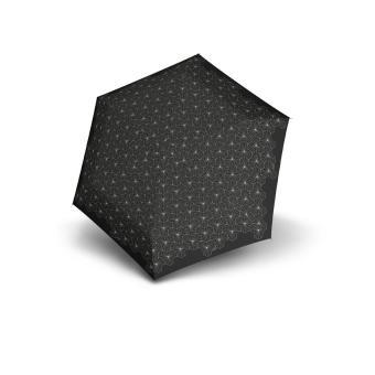 Knirps TS.010 Slim Small Manual Taschenschirm Superthin Design Lotous Black