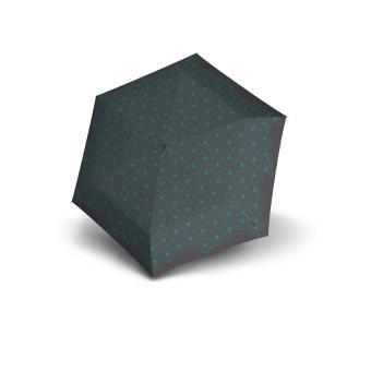 Knirps TS.010 Slim Small Manual Taschenschirm Superthin Design Lotous Iron