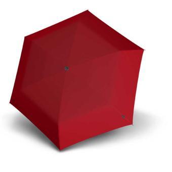 Knirps TS.200 Slim Medium Duomatic Automatischer schmaler Taschenschirm red