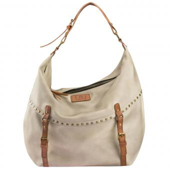 Louiz & Lou Buckle Up! Shopper/Beuteltasche Off White