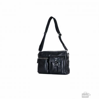 Picard Buddy Männertasche Leder 33 cm schwarz