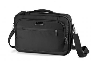 March bags take a'way Aktentasche Laptopfach 15 Zoll black