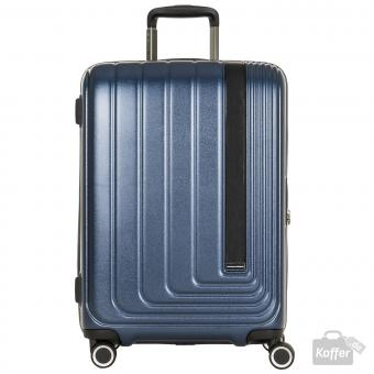 March beau monde Trolley M 4w navy metallic