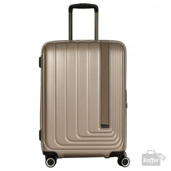 March beau monde Trolley M 4w silver bronze metallic