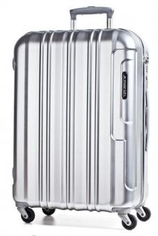 March cosmopolitan Trolley M 64cm 4W silver brushed alu look