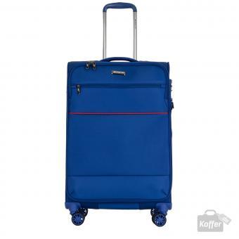 March easy Trolley M 4w erweiterbar Cobalt Blue