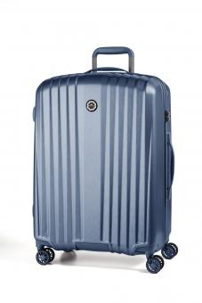 March everest Trolley L 4w Mid Blue (Brushed)