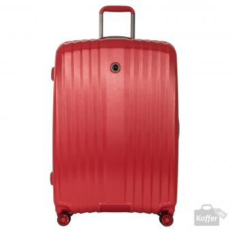 March everest Trolley L 4w Red (Brushed)