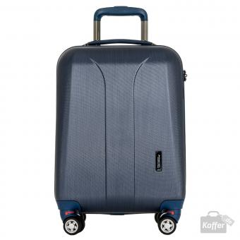 March new carat Cabin Trolley 4w navy brushed