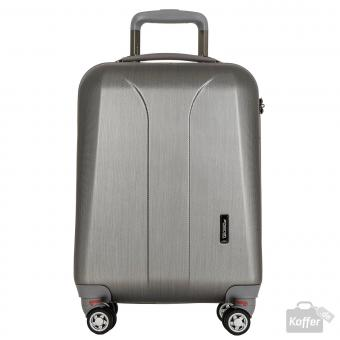 March new carat Cabin Trolley 4w silver brushed