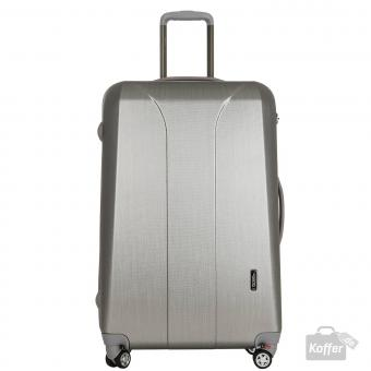 March new carat Trolley L 4W silver brushed