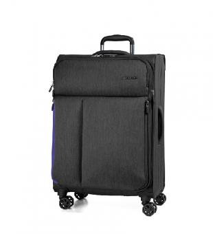 March rally Trolley S 4w black brushed