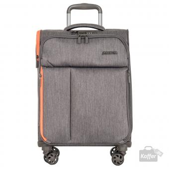March rally Trolley S 4w grey brushed
