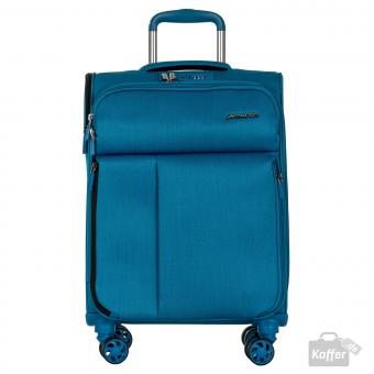 March rally Trolley S 4w petrol blue brushed