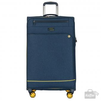 March shorttrack Trolley L 4w erweiterbar navy/yellow