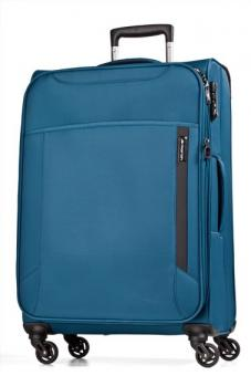 March cloud Trolley M 4W Expandable petrol blue