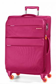 March Elle Trolley M 4W erweiterbar fuchsia